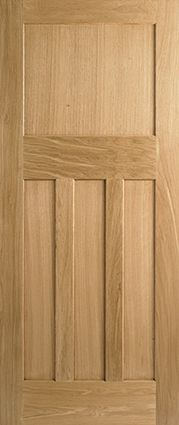 Internal Oak DX 30s Style Nostalgia Fire Rated Door