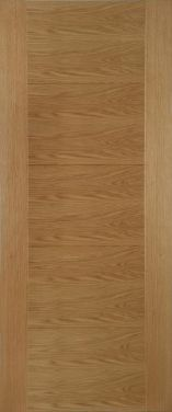 Internal Oak ISEO Crown Cut Veneer Pre-Finished Door